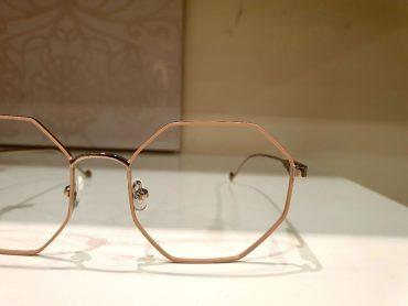 Vintage Achteck Brille